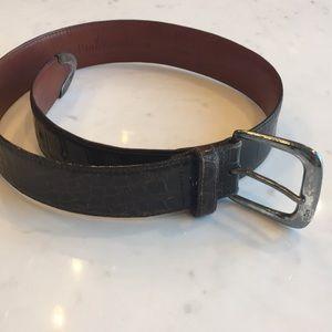Ralph Lauren alligator skin belt. Genuine.